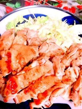 下味は麺つゆで♪我が家の鶏の照り焼き♡