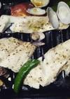 鯛とアサリのアクアパッツァ