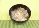根菜ともずくのスープ