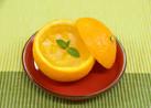黄桃とスイートスプリングのゼリー