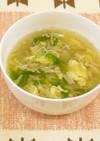セロリとえのきの卵スープ