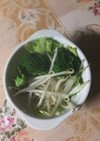 栄養満点 超時短温野菜