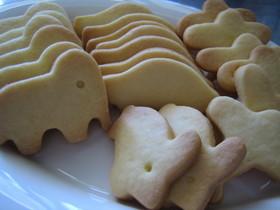 さくっと簡単♪型抜きクッキー