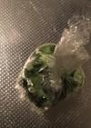 冷凍小ねぎの解凍方法