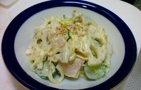 れんこんサラダ(ゴマ風味)