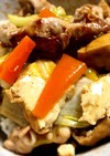 野菜たっぷり簡単豚肉丼