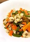 ご飯にぴったり!野菜と春雨の中華炒め