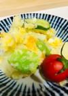 そら豆の春色ポテトサラダ マヨなし!