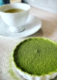 材料3つのトロける抹茶ティラミス