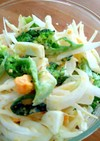 新玉ねぎとブロッコリーのデリ風サラダ♥
