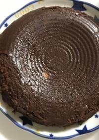 粉不使用★炊飯器で簡単チョコチーズケーキ