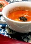 トマトがごろごろ トマトスープ