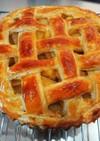 冷凍パイ生地で簡単りんごパイ