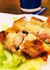 冷凍鶏モモ肉のパリパリチキン