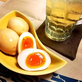 ウイスキー入り半熟味付け卵