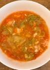 レンチンでヘルシー丸ごとトマトスープ