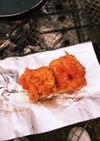 焼きカプレーゼバゲット キャンプ飯