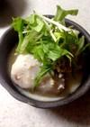 里芋の豆乳煮