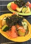 食感楽しむ♡韓国風味さっぱり乱切りサラダ
