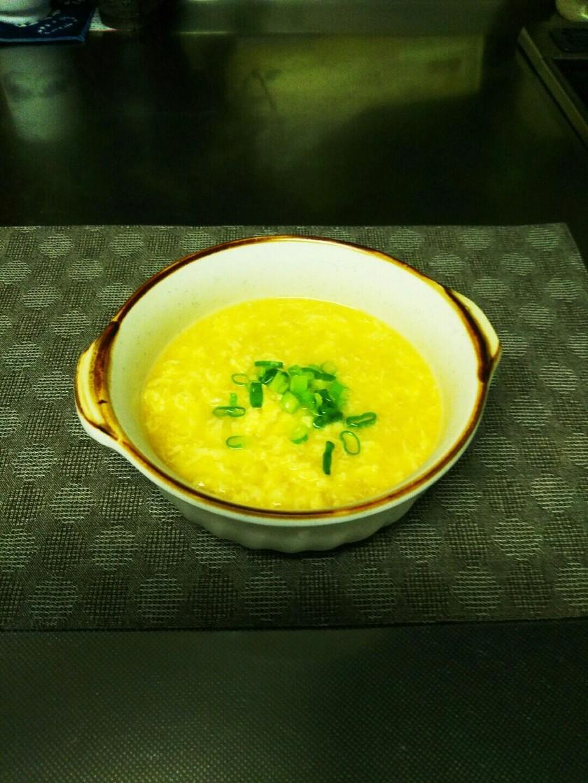 ふわっ卵の中華風コーンスープ