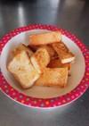 こどもパクパク☆食パンできな粉揚げパン風