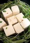 豆腐と豆苗の煮物