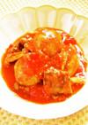 ☺簡単♪鯖の水煮缶と新じゃがのトマト煮☺