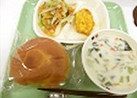 クラムチャウダー@つくば市学校給食