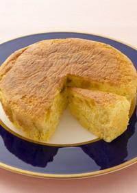 カボチャまるごとふわふわケーキ