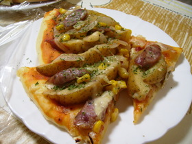 ほくほく★ポテト★ピザ