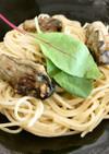 牡蠣の旨みたっぷりガーリック醤油パスタ