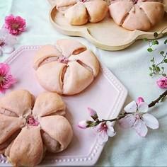 可愛い桜パン 成型のコツ