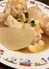 簡単★生姜でぽかぽか♪大根と手羽先の煮物