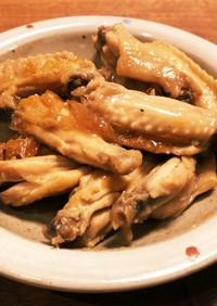 鳥手羽中のマーマレード煮