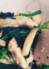 鶏胸肉とほうれん草のバターソテー