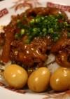 猪脚飯(豚足煮込み丼)