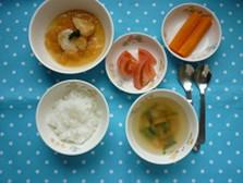 白身魚のおろし煮@つくば市離乳食