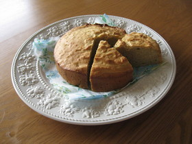 FPで作る簡単バナナケーキ