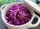 お弁当に★紫キャベツの簡単ナムル