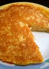 残ったパン粉のホットケーキ(パンケーキ)
