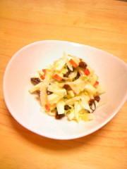 フルーティなコールスローサラダの写真