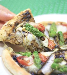 磯ののり佃煮ピザ
