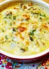 筋トレ飯♡牡蠣と野菜のチーズ焼き