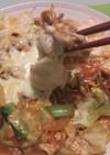 なんちゃってチーズタッカルビ風肉野菜炒め