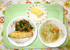 鮭のムニエル@つくば市幼児食