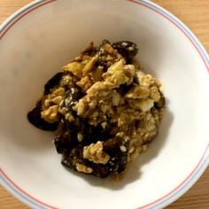 椎茸と豆腐の卵あんかけ