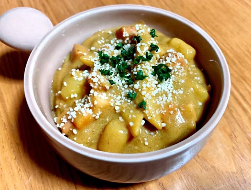カレー風パスタスープ