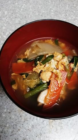 簡単!我が家の和風野菜スープ