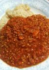 大豆ミート挽き肉でルーなしキーマカレー