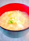 超簡単!中華風味噌 ふわふわ卵スープ